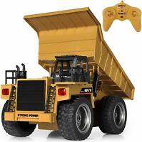 RC Dumper Truck Metal Mini RC Dump Truck 4WD Remote Control Trucks Toy For Kids