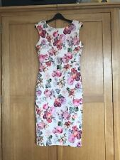Beautiful Floral Lace Sleeveless Bodycon Dress