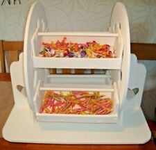 Solid large wooden Wedding candy ferris wheel for sale free postage uk