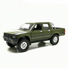 1:32 Toyota Hilux Pick-up Truck Model Car Diecast Gift Toy Vehicle Green Kids