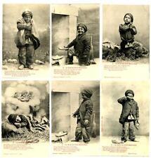 CPA Fantaisie Bergeret Le Noël du Petit Ramoneur série de 6 cartes  postcard