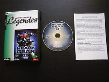 JEU PC CD-ROM : HEAVY GEAR II (Activision, envoi suivi)