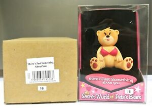 BNIB - BAD TASTE BEAR FIGURE - SWOP SERIES - 'THERE'S JUST SOMETHING ABOUT YOU'.