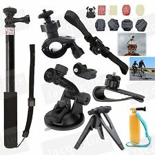 New Outdoor Accessories Kit for Sony Action Cam HDR AS200V AS100v AS30V AS50 AZ