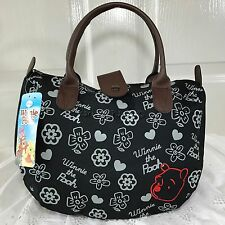 DISNEY WINNIE the POOH Handbag Clutch Purse Tote Shopper Bag W 30 x H 22 cm (S).