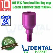 10X MIS Standard Healing cap Dental abutment Internal Hex