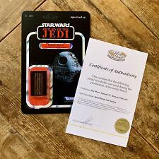 Star Wars Death Star II Prop on Custom Kenner Cardback