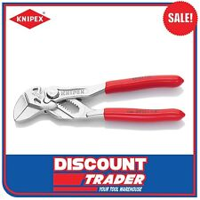 "Knipex 5"" 125mm Mini Pliers Wrench - Adjustable Spanner - Multi-Grips - 8603125"