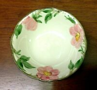 "Franciscan Earthenware Desert Rose Pattern Coupe Cereal Bowl 6"" 1960's"