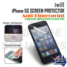 iwill Apple iPhone 5 5s Premium anti Finger Print extra clear Screen Protector