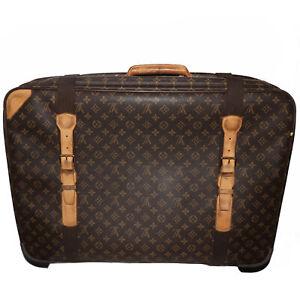 Vintage Louis Vuitton Satellite 70 Monogram Canvas Suitcase Travel Bag
