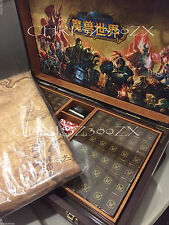 Blizzard Blizzcon 2015 World of Warcraft Mahjong Set - Mists of Pandaria + Box