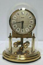 Cúpula De Latón Alemán Vintage Kundo Mantel Carro Reloj - 232