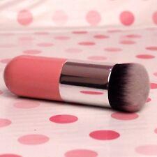 Brocha Kabuki rosa fundación untar base maquillaje o Bb crema base pelos suaves