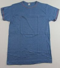 Vintage '70's KMART Blue Heather SS T Shirt Size M/L (New Old Stock!!)