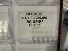 Atlas HO Scale Code 100 Insulated Rail Joiners 24 piece #55 Bob The Train Guy