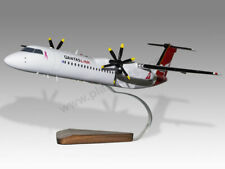 Bombardier Dash 8 Q400 Qantaslink Custom Made Solid Mahogany Wood Desktop Model