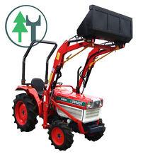Traktor Schlepper Kubota L2202 mit Frontlader Allrad neu lackiert und überholt