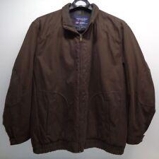 Roundtree & Yorke Size 2XT F55CR245T Mocha Brown New Mens Jacket Winter Coat