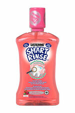 Listerine Kids 6+ Smart Rinse Mild Berry Mouthwash 250ml 8.8fl oz