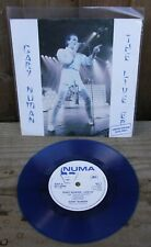 "GARY NUMAN THE LIVE E.P. LTD. EDITION BLUE VINYL 7"" 45RPM VINYL RECORD EX/EX+"