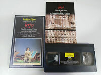 HAENDEL JERJES ENGLISH NATIONAL OPERA CHARLES MACKERRAS VHS TAPE LA GRAN OPERA