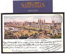 MS2603 1902 GB Staffs *WOLVERHAMPTON EXHIBITION* CDS PPC Postcard Germany RARE