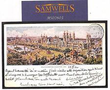 MS2603 Great Britain Postmark 1902 *WOLVERHAMPTON EXHIBITION*CDS Staffs PPC RARE