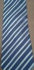 Cravatta GIORGIO ARMANI - originale - blue con righe azzurre - eccellente!