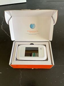 AT&T Velocity MF923 WiFi Mobile Hotspot - White - NEVER USED