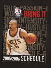 new products d825f 371df Basketball New Jersey Nets Vintage Sports Schedules for sale ...