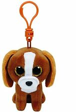 Ty Beanie Boos Tala the Dog Clip Plush Key chain Toy ( New )