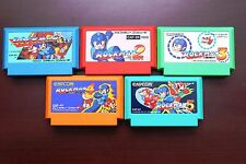 Famicom FC Rockman Megaman 1 2 3 4 5 Japan NES import game US Seller
