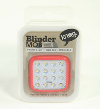 Knog Blinder Mob Kid Grid Front Bike Light USB Rechargeable