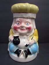 Rare 1950s Robinson Ransbottom Pottery - OLD KING COLE - Cookie Jar