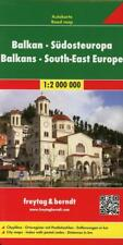 Balkan - Südosteuropa, Autokarte 1:2.000.000 (2017, Mappe)