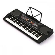 New Black 61 Key Electronic Music Keyboard Electric Piano Organ K61