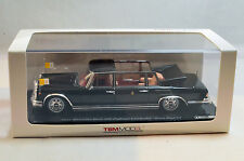 TrueScale TSM Mercedes Benz 600 Pullman Landaulet Pope Paul VI Black 1965 1:43
