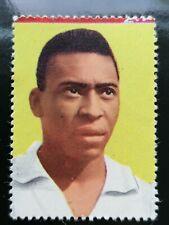 Sicker Verlag 1965-66 Pele # 315 FC Santos Football Fussball card no Panini