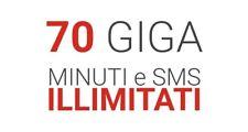 Super Promo KENA 5,99 70 Giga!!  per ILIAD,POSTE  no Tim,Vodafone,Wind,tre,Ho.