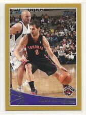 2009-10 Topps Basketball - GOLD - #285 - Jose Calderon - Toronto Raptors