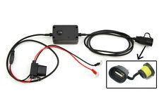 Motorcycle motorbike mobile charger USB hardwired iPad Dell Tablet Playbook etc