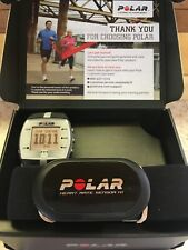 Polar Fitness Ft7 Watch~Heart Rate~Monitor~90039170~Bla ck/Silver~2 New Batteries
