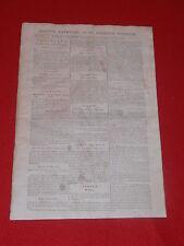 JOURNAL GAZETTE NATIONALE OU LE MONITEUR UNIVERSEL N° 308 SAMEDI 3 NOVEMBRE 1792