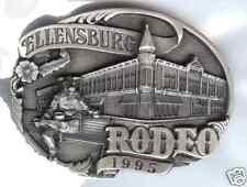 1995 Ellensburg Rodeo Commemorative Belt Buckle