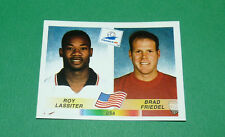N°416 LASSITER FRIEDEL USA PANINI FOOTBALL FRANCE 98 1998 COUPE MONDE WM