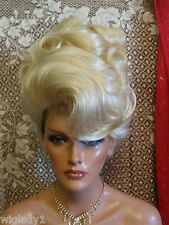 VEGAS WIGS CORONATION UPDO FRENCH TWIST BIG SOFT CURLS SMOOTH VOLUME SEXY GLAM