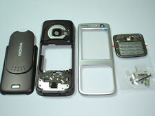 new  nokia n73 cover  housing keypad set   purple silver colour