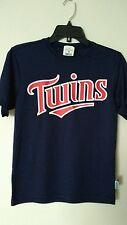 Minnesota Twins Majestic MLB Youth Boys Athletic T-Shirt/Jersey Size M.