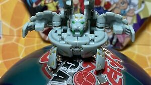 Bakugan Blade Tigrerra Grey Haos Bakupearl 590g Green Eye B2 Battle Brawlers Toy